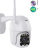 זול חליפות לנושאי הטבעת-wifi מצלמה מצלמת וידאו ptz h.265x 1080p מהירות כיפת מצלמות אבטחה מצלמת ה- IP מצלמת WiFi wifi חיצוני 2mp ir home surveilance