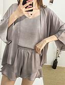 hesapli Pijamalar-kadın saten&ipek gecelikler siyah şarap fuşya m l xl