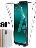 hesapli Cep Telefonu Kılıfları-Samsung galaxy için 360 derece kılıf a70 a50 a40 a30 a20 a10 a10 a9 2018 a7 2018 a8 plua 2018 a8 2018 a6 artı 2018 a6 2018 silikon kapak 2 in 1 ön arka yumuşak tpu kılıf