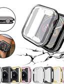 זול מטען כבלים ומתאמים-Ultra-slim ציפוי tpu מגן מגן פגוש במקרה עבור סדרת שעונים Apple 4/3/2/1 40/44/38 / 42mm