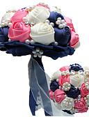 """זול להקות Smartwatch-פרחי חתונה זרים חתונה / מסיבת החתונה עשוי משי גס / זכוכית / סגסוגת אלומיניום מגנזיום 11-20  ס""""מ"""