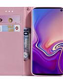 זול מגנים לטלפון-מגן עבור Samsung Galaxy S9 / S9 Plus / S8 Plus ארנק / מחזיק כרטיסים / עם מעמד כיסוי מלא פרפר / עֵץ / פרח קשיח עור PU