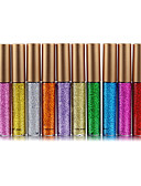 halpa NYE-mekot-10 väriä Luomiväri Luomiväri / Ulkoilu ammattilainen / Helppokäyttöinen / Erikoiskevyt(UL) Ammattilaisten Arkipäivän meikki kosmeettinen