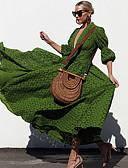 povoljno Maxi haljine-Žene Swing kroj Haljina Jednobojni Maxi