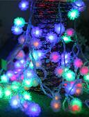זול כבל & מטענים iPhone-2.5 מ ' חוטי תאורה 20 נוריות צבעוני עיצוב חדש / Party / דקורטיבי סוללות AA 1pc