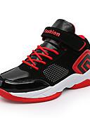hesapli Kadın Pantolonl-Genç Erkek PU Atletik Ayakkabılar Büyük Çocuklar (7 yaş +) Rahat Basketbol Siyah / Kırmızı / Siyah / Mavi Sonbahar