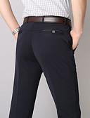 hesapli Erkek Pantolonları ve Şortları-Erkek Temel Takım Elbise Pantolon - Solid Siyah Koyu Mavi US42 / UK42 / EU50 US44 / UK44 / EU52 US46 / UK46 / EU54