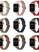 זול להקות Smartwatch-צפו בנד ל סדרת Apple Watch 5/4/3/2/1 Apple אבזם קלאסי עור אמיתי רצועת יד לספורט