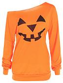 preiswerte Pyjamas-Damen Geometrisch T-shirt Orange
