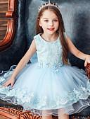 hesapli Elbiseler-Çocuklar Genç Kız Actif Tatlı Solid Kolsuz Asimetrik Elbise Doğal Pembe