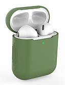 זול מארזי AirPods-מגן עבור AirPods עמיד בזעזועים / עמיד לאבק מארז אוזניות קשיח