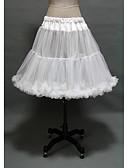 povoljno Stare svjetske nošnje-Princeza Petticoat kratka baletska suknja Pod suknjom 1950-te Gotika Srednjovjekovni Obala / Krinolina