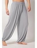 hesapli Erkek Pantolonları ve Şortları-Erkek Temel İnce Chinos Pantolon - Solid Siyah Koyu Gri Açık Gri US38 / UK38 / EU46 US40 / UK40 / EU48