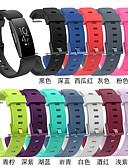 hesapli Smartwatch Bantları-Watch Band için Fitbit HR'ye İlham Ver / Fitbit ilham Fitbit Spor Bantları Silikon Bilek Askısı