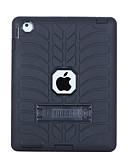povoljno Kućište iPada-Θήκη Za Apple iPad 4/3/2 Otporno na trešnju / sa stalkom Stražnja maska Jednobojni PC / silika gel