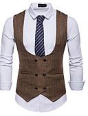 hesapli Yelekler-Polyester Düğün Kabanlar / Ceketler Solid