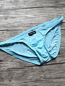 זול תחתוני נשים-בגדי ריקוד גברים בסיסי תחתונים ניילון / ספנדקס מותן נמוך