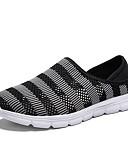 hesapli Erkek Tişörtleri ve Atletleri-Erkek Ayakkabı Örümcek Ağı Yaz Mokasen & Bağcıksız Ayakkabılar Günlük için Siyah / Kırmzı / Gri