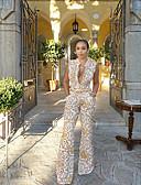povoljno Ženski jednodijelni kostimi-Žene Osnovni Obala Odjeća za igru, Geometrijski oblici Print S M L