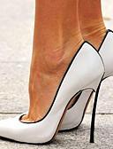 povoljno Haljine za NG-Žene Cipele na petu Stiletto potpetica Krakova Toe Lakirana koža Proljeće & Jesen Obala