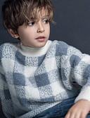 povoljno Džemperi i kardigani za dječake-Dijete koje je tek prohodalo Dječaci Aktivan Geometrijski oblici Print Dugih rukava Džemper i kardigan Deva
