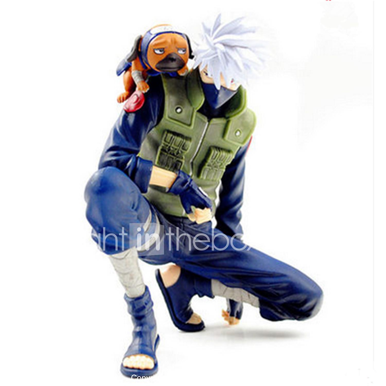 Anime action figures inspired by naruto hatake kakashi pvcpolyvinyl chloride 14 cm cm model toys doll toy mens boys girls