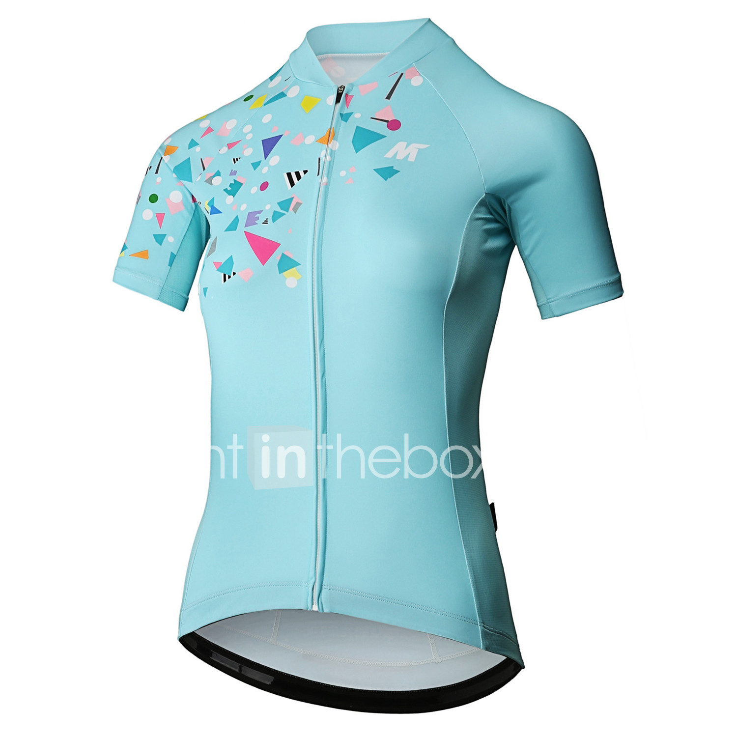 Mysenlan Women s Short Sleeve Cycling Jersey - Mint Green Bike Jersey  Sports Polyester Mountain Bike MTB 1ab77aa3a
