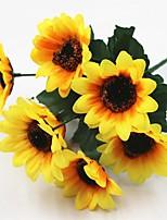 30cm 5 pcs 7 headbranch sun flower home decoration artificial flowers