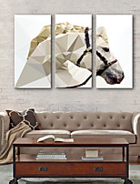 Cheap Wall Art Canvas Print Rustic Modern, Three Panels Canvas Vertical  Print Wall Decor