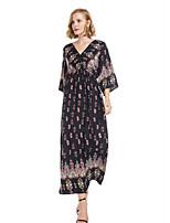 olcso Női ruhák-Női Alap Hüvely Ruha Maxi 1636254b3b