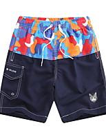 0926aee75940 billige Underdele til mænd-Herre Blå Grøn Orange Badebukser Underdele  Badetøj - camouflage L XL