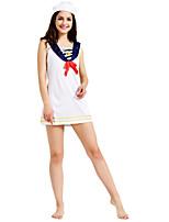 0cbd69f8b2b6 economico Cosplay e Costumi-Marinaro Per adulto Per donna Vestiti Costumi  Cosplay Per Poliestere Abito