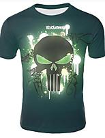 f99bc9663 baratos Ofertas Diárias-Homens Tamanhos Grandes Camiseta Estampado