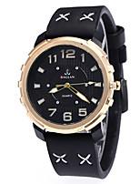 f3157afe2e16c رخيصةأون ساعات جلد-رجالي ساعة رياضية كوارتز جلد أسود   أزرق   أحمر 30 m جديد