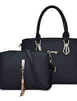 5fd1035fc6 Χαμηλού Κόστους Σετ τσάντες-Γυναικεία Τσάντες PU Σετ τσάντα 2 σετ Σετ  τσαντών Φερμουάρ Συμπαγές