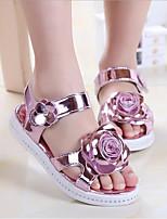 e1ad49ead2 olcso Kislány cipők-Lány Cipő Műbőr Nyár Kényelmes Szandálok mert Arany /  Rózsaszín