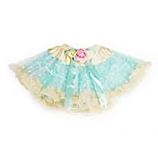 Una línea de princesa rodilla vestido de niña de flores - Tulle charmeuse sin mangas con volantes