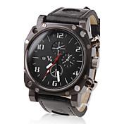 V6 Hombre Reloj Militar / Reloj de Pulsera Gran venta PU Banda Encanto Negro / Dos año / Mitsubishi LR626