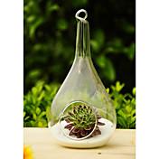 芸術のドロップ形の吊りガラスの花瓶