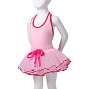 Ropa de Baile para Niños Tutús Vestidos Niños Representación Algodón Espándex Sin mangas
