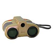 4X30 mm Binóculos Genérico Brinquedo Para Crianças Focagem Central