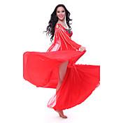 Danza del Vientre Accesorios Mujer Entrenamiento Tul Sin mangas
