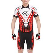 Maillot de Ciclismo con Shorts Hombre Manga Corta Bicicleta Shorts/Malla corta Camiseta/Maillot Sets de Prendas Ropa para Ciclismo Secado
