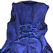 ワンピース/ドレス ゴスロリータ ロリータ コスプレ ロリータドレス ゴールデン シルバー ゼブラプリント ノースリーブ ミドル丈 ドレス ために