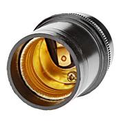 e27 droplightランプホルダー(黒)高品質照明アクセサリー