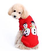 Perro Suéteres Ropa para Perro Bonito Mantiene abrigado Navidad Sólido Disfraz Para mascotas