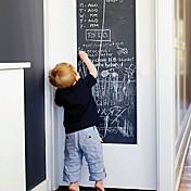 黒板 ウォールステッカー 黒板ウオールステッカー 飾りウォールステッカー,ビニール 材料 取り外し可 再利用可 洗濯可 ホームデコレーション ウォールステッカー・壁用シール