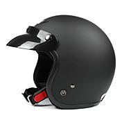 negro mate-4 abs motocicleta material de medio casco