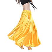 danza del vientre desgaste de las faldas de las mujeres entrenamiento satén elegante vestido clásico