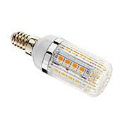 E14 Bombillas LED de Mazorca T 36 leds SMD 5050 Regulable Blanco Cálido 480lm 3000-3500K AC 100-240V